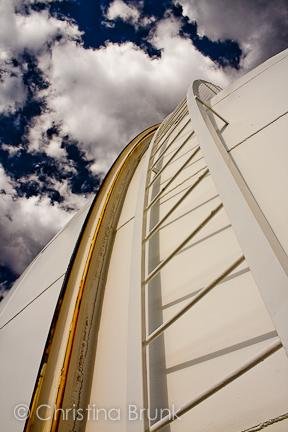 Lick Observatory: Dome Shutter Rail